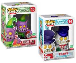 Fantastik Plastik - Flaky and Egor Elf (2 Pack) (Funko Shop Europe) 14+15