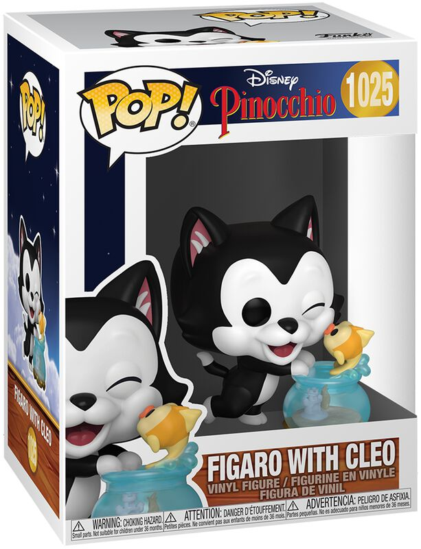 80th Anniversary - Figaro with Cleo Vinyl Figure 1025