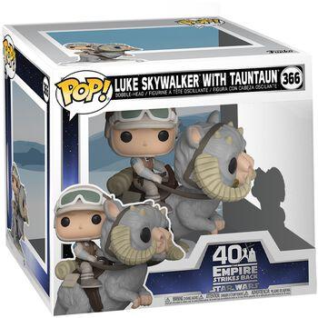 Empire Strikes Back 40th Anniversary - Luke Skywalker With TaunTaun (POP Deluxe) Vinyl Figure 366