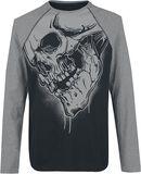 Raglan Longsleeve With Skullprint