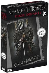 Ned Stark on the Iron Throne (1000 Pieces)