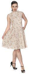 Fresh Bloom Print Flare Dress