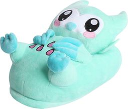 Minty the Owl - Slippers