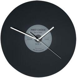 Glass Wall Clock Vinyl