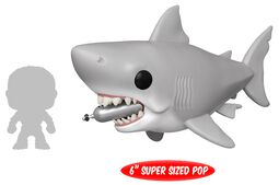 Great White Shark with diving Tank (Oversized) Vinyl Figure 759