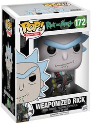 Weaponized Rick (Chase Edition Possible) Vinyl Figure 172