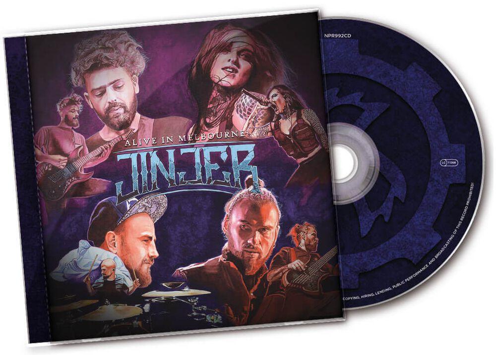 Alive in Melbourne | Jinjer CD | EMP