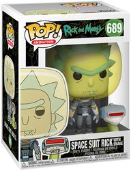 Season 4 - Space Suit Rick With Snake Vinyl Figure 689