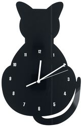 Acrylic Wall Clock Cat