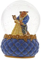 Belle and Beast - Snow Globe
