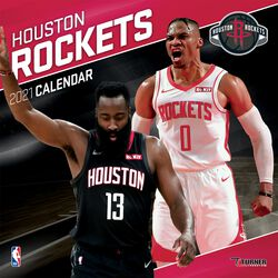 Houston Rockets - Calendar 2021