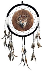 Dreamcatcher Lone Wolf