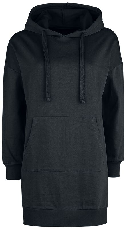 Long Black Hooded Sweater