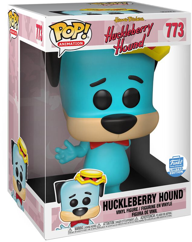 Huckleberry Hound (Supersized) (Funko Shop Europe) (Chase Edition Possible) Vinyl Figure 773