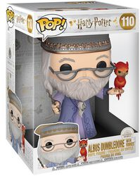 Dumbledore With Fawkes (Jumbo Pop!) Vinyl Figure 110