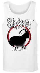 Iowa Goat Silhouette